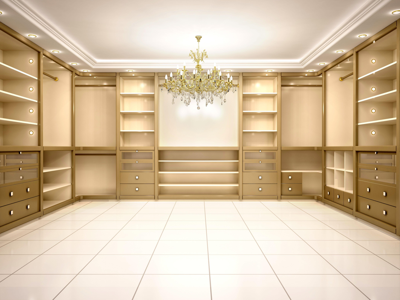 small but tidy closet